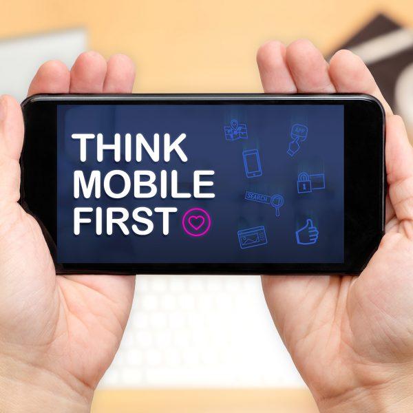 Web Design: Mobile First Bild